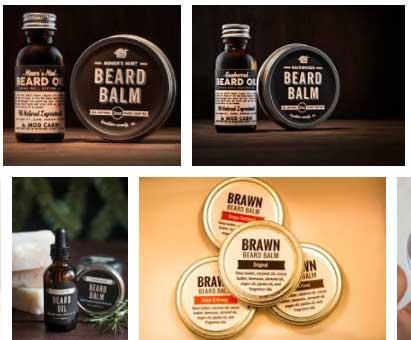 Aceite y Balsamos Para Barba
