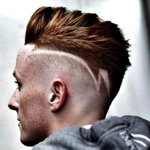 Fotos de cortes de cabello con rayas