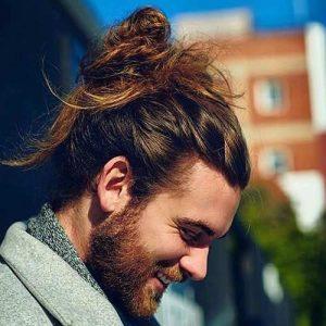 Cabello Desordenado Con Barba