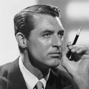 Cary Grant Peinado a un Lado