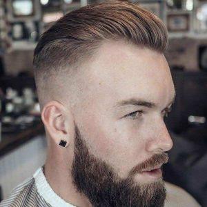 Peinados para atras hombres