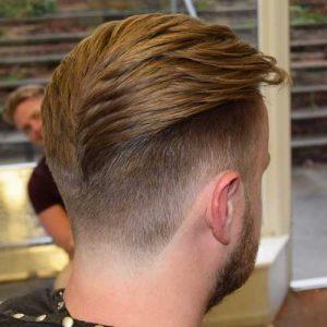 Corte Bajo Con Cepillado Texturado y Barba