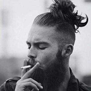 Corte Bajo los lados con barba