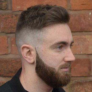 Corte Texturizado con Degradado y Barba