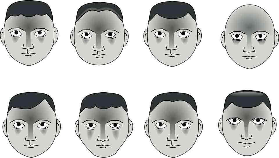 Corte de cabello según el tipo de rostro de los hombres