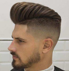 Corte de cabello con pico