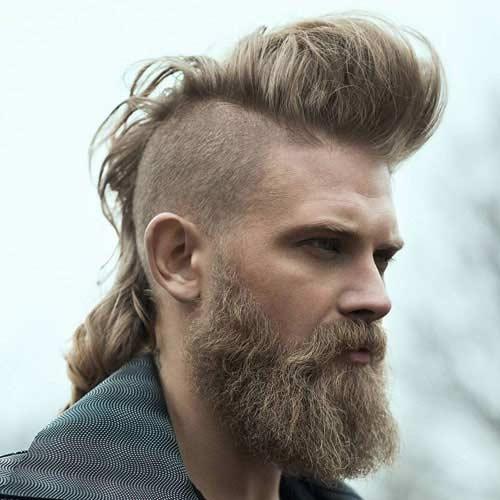 Mohicano con Barba