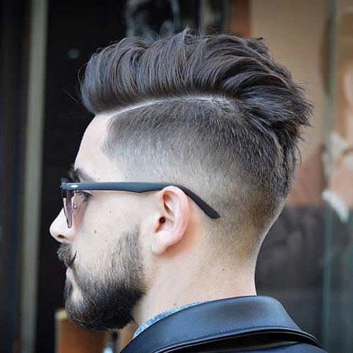 Peinado Arriba Con Degradado