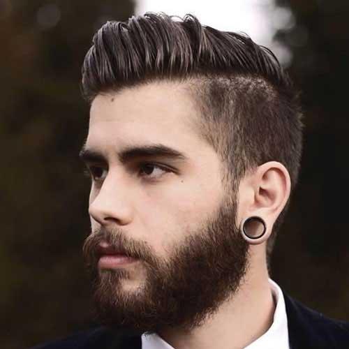 Cortes de pelo peinado al costado