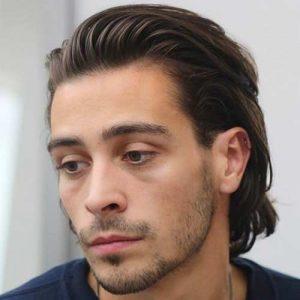 Cortes de pelo largo para 2018 ltimas tendencias for Peinado hacia atras hombre