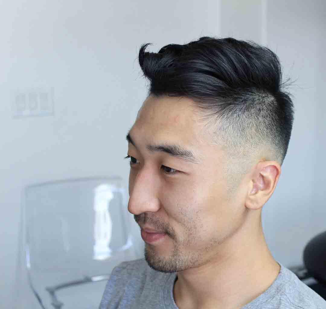 Estilos de corte para cabello grueso hombre