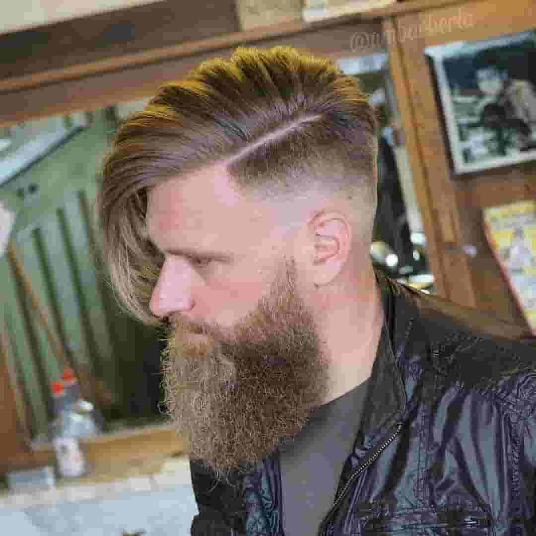 Undercut-largo-con-barba