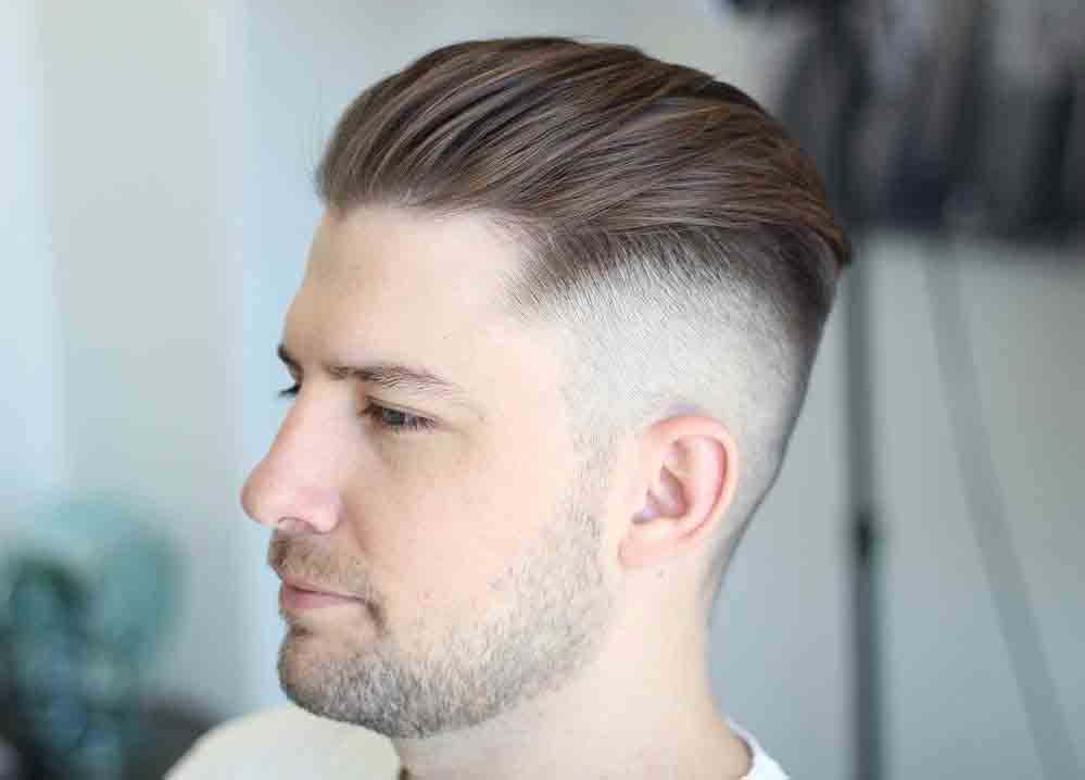 Corte de cabello disconnected undercut