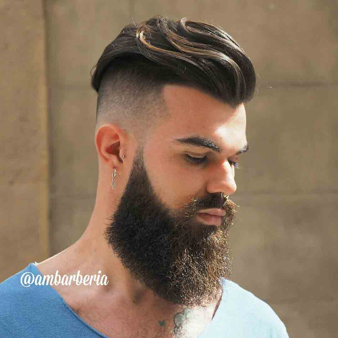men hair cut style 19 undercut masculino lo mejor para este corte de pelo 1158 | largo undercut con barba