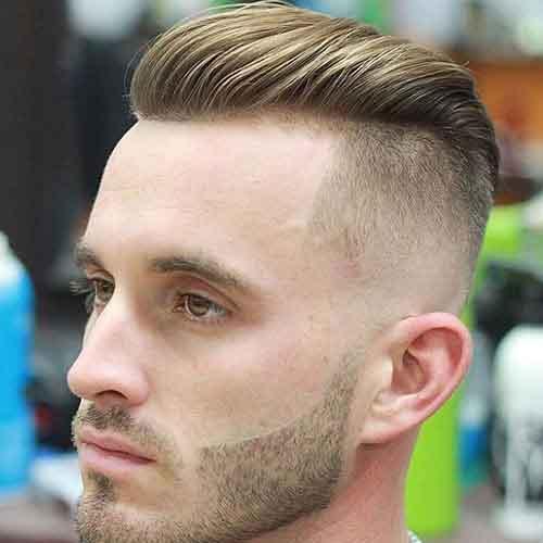 Corte de cabello hombre corto delos lados