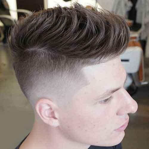 Corte de cabello tipo undercut