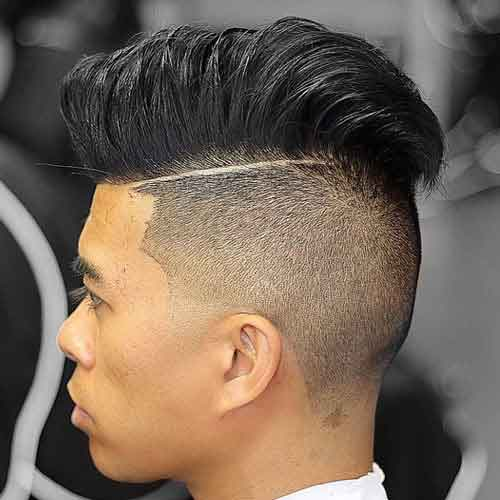 Undercut-Comb-over
