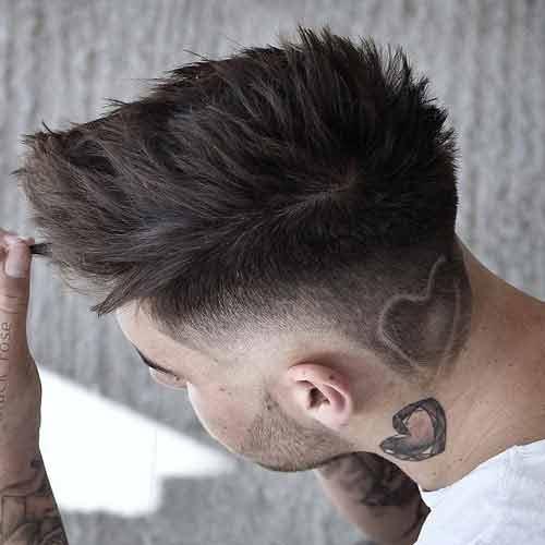 Cortes de cabello 2018 hombres con dibujos