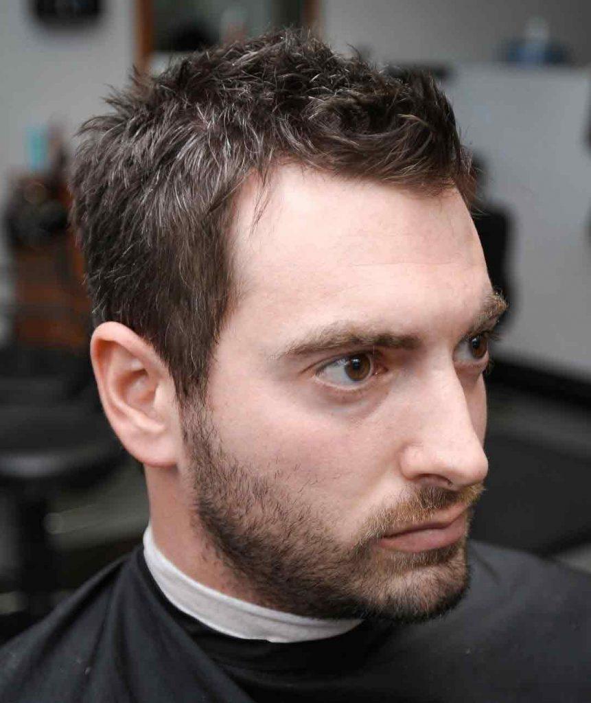 Cortes de pelo para disimular entradas hombres