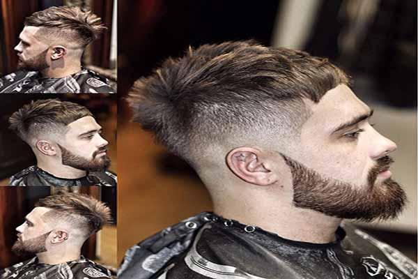 Cabello-corto-en-pullas-con-barba-desconectada