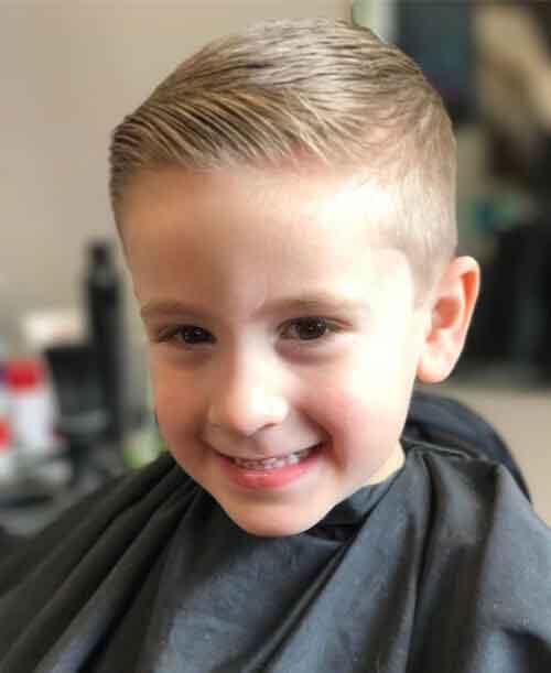 comb over clasico para nios - Peinados Nios