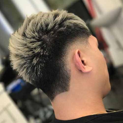 Degradado-bajo-con-cabello-corto-teñido