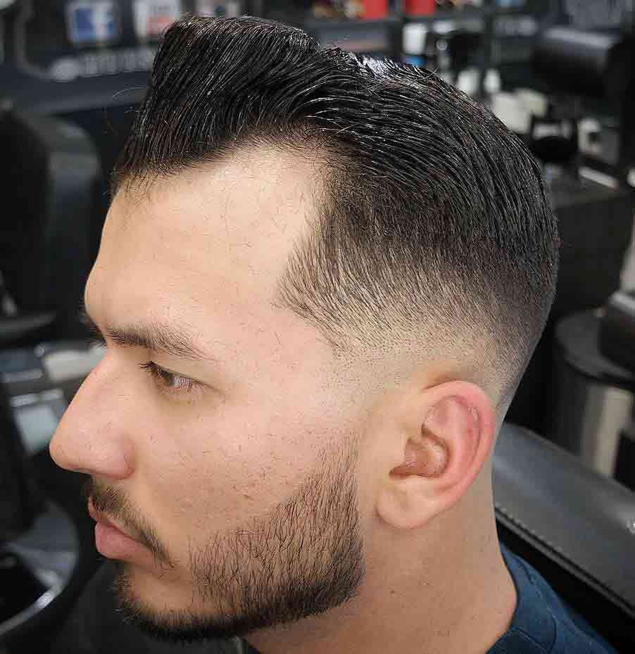 Pompadour-y-degradado