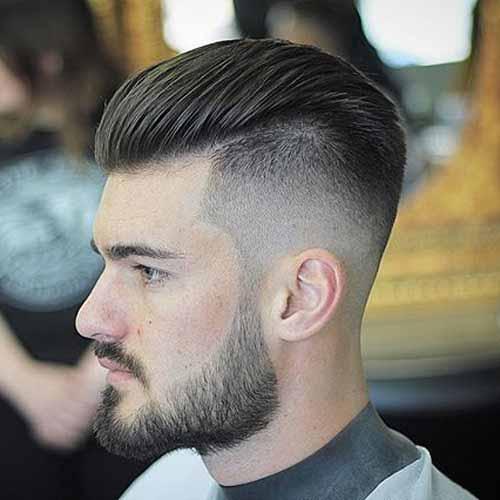 Los mejores cortes de cabello para hombres 2018 for Peinado hacia atras hombre