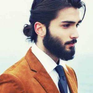 Peinados Hombre Pelo Largo Formal Hermosos Peinados - Peinado-hombre-largo
