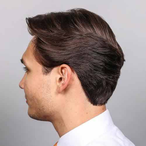Cortes de pelo semi largo hombre
