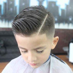 Corte de pelo con lineas