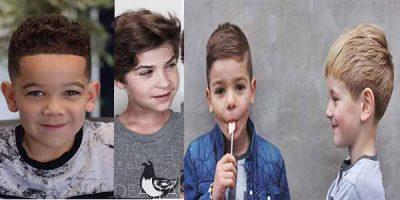 cortes de cabello para niños a la moda