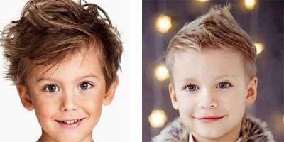 cortes de pelo modernos para niños