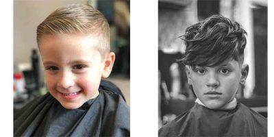 cortes de pelo para niños populares