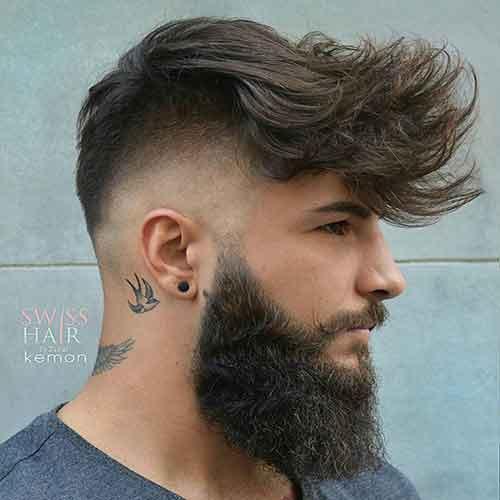 peinado corto para hombre moderno