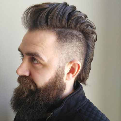 Be Creative And Have Fun With These Mohawk Fade Variations
