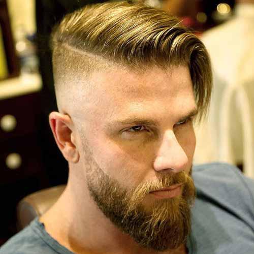 Cortes de cabello para hombres largo arriba