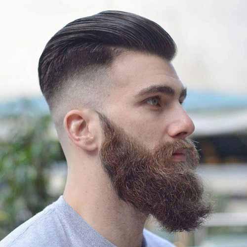 Barba-Espesa-con-degradado-y-pelo-hacia-atras