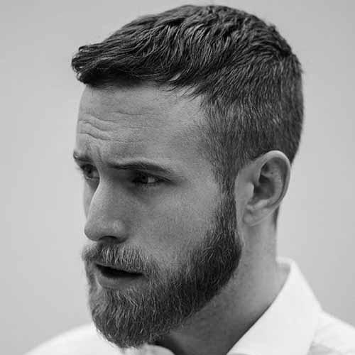 Cabello-corto-con-barba