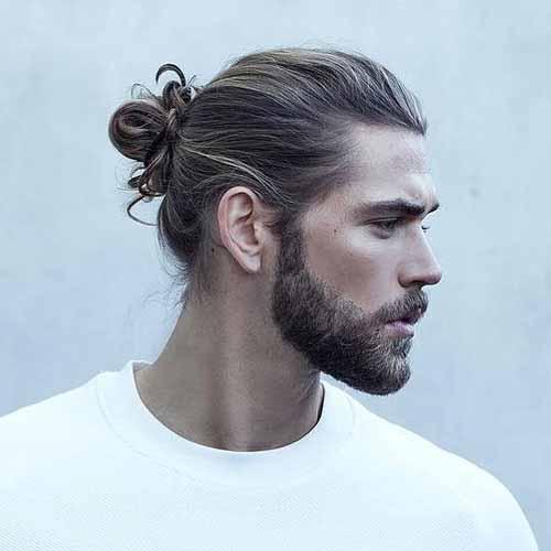 Hombre-bun-con-barba