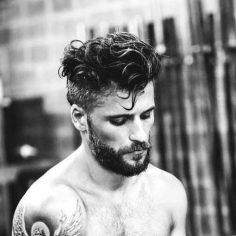 Cortes de cabello ondulado para hombre 2018