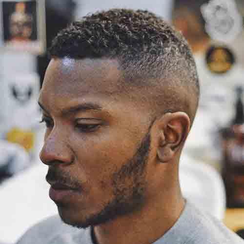 corte-de-cabello-hombre-negro-corto-rizado-con-degradado