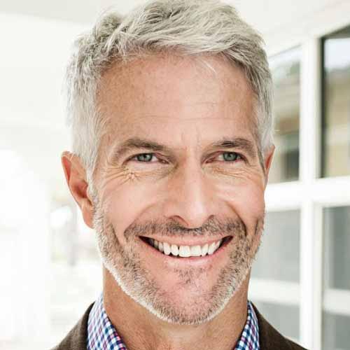 corte de pelo moderno para hombres maduros 1 - Corte De Pelo Moderno