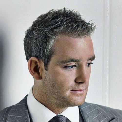 Corte de cabello moderno varones
