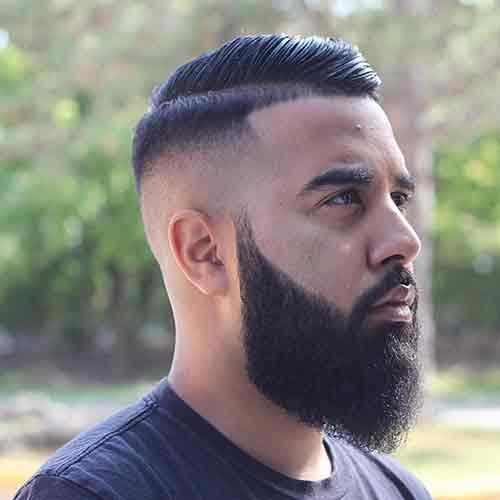 Bald-fade-con-comb-over