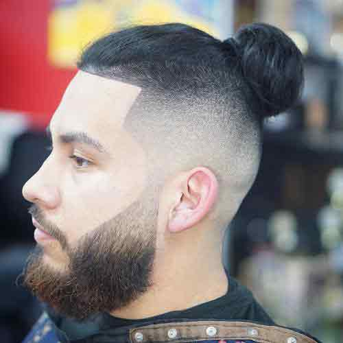High-fade-con-cabello-largo