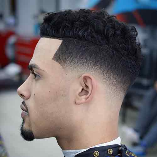 Corte de pelo low fade haircut