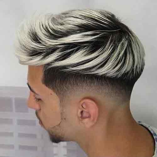 low-bald-fade-con-cabello-plateado