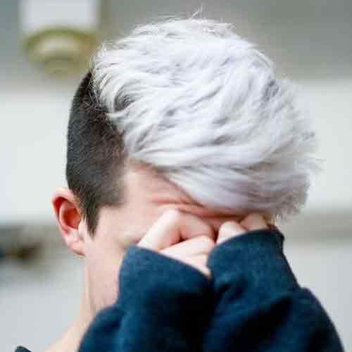undercut-con-cabello-blanco