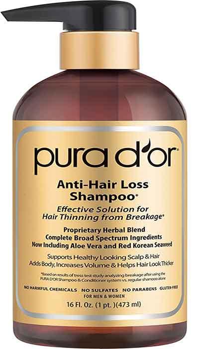 PURA-D'OR-Champú-de-aceite-de-argán-orgánico-Premium-para-la-prevenciónde-Caída-del-cabello